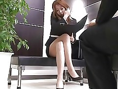 sexual office scene censored asian japanese