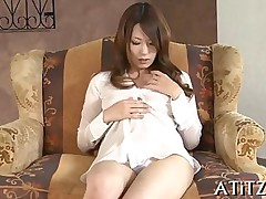 big tits blowjob hardcore asian japanese solo toy vibrator trimmed