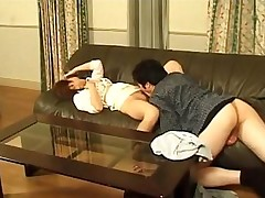 asian erotic hairy sexy couch pussy licking
