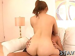 ass blowjob hardcore asian brunette japanese stockings ass licking