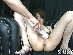 ass blowjob hardcore asian brunette hairy japanese masturbation squirting toy