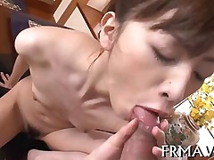 blowjob hardcore sucking asian closeup japanese oral trimmed