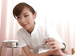 stunning nurse part censored asian handjobs japanese