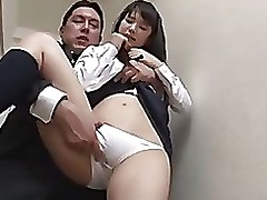 reluctant japanese school darling creampie finish