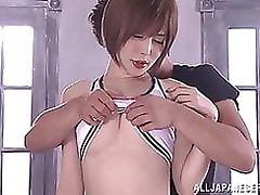 yuria satomi raunchy milf drenched attains vibrator insertion toys cosplay