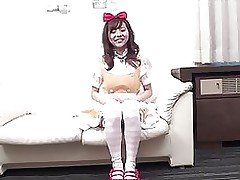 shina woman servant cosplay copulation maid