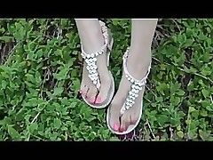 alluring coco sandals asian teen