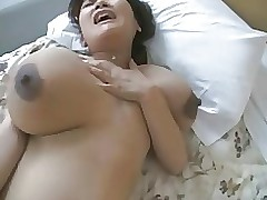 kanae japanese cutie black massive aerolas asian boobs hairy nipples