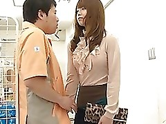 akiho yoshizawa rides massive dick receives wad jism waste cumshot