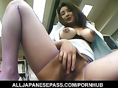yui tokui squeezes large wobblers bonks sextoy office alljapanesepass adult