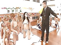 clashing fuckfests pool asian femdom gangbang group sex japanese