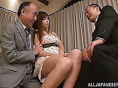 rina itou appealing oriental amateur hardcore group fucking action facial