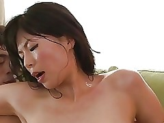 model saki aoyama chinese darling giving dick sucking astonishingly asian