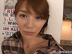 amusing chinese youthful sucks phallus obtains sperm facial amateur blowjob