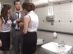 perfect yuna shiina accepts nailed male female blowjob group sex