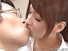 yui ooba educator accepts pink love cage loaded blowjob bukkake